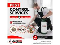 Pest Control 100% Guaranteed Rat Mice Bedbugs Cockroaches Ants Wasps Mouse proofing