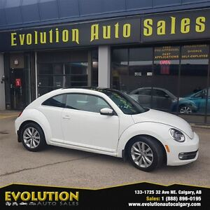 2013 Volkswagen Beetle 2.5L HIGHLINE ONLY 64,297KM AUTO