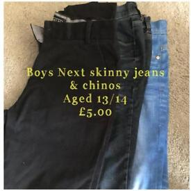 Teenage boys clothes