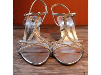 Women's Lilley sparkle heeled sandals