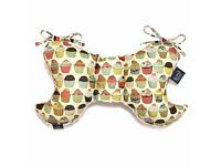 La Millou Baby's head and neck support pillow cupcakes/ecru FREE DELIVERY
