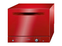 Bosch Table Top Dishwasher Red Delivery Available Bedford Area