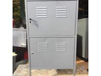 2 door steel cabinet 2 door have a key