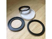 Lee Style Filter Holder Rings & Genuine Lee Lens Cap