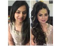 Asian bridal party hair and makeup artist. Experienced Bridal make up and hair available.