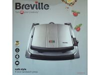 Breville Café Style 4 Slice Sandwich Press