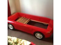 Awesome kids Porsche convertible bed