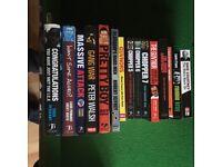 Various crime books