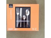 Grunwerg 23 piece stainless steel cutlery set, heavyweight deluxe, new in box