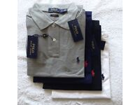 Wholesale Ralph Lauren Polo Shirts / T-Shirts Authentic Factory Stock