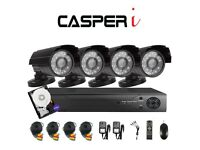 4CH 1080P 2.0MP Home Security Camera System In/Outdoor Video Monitoring CCTV