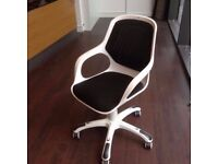 The Wade white office chair from John Lewis (offers and trades are welcome)