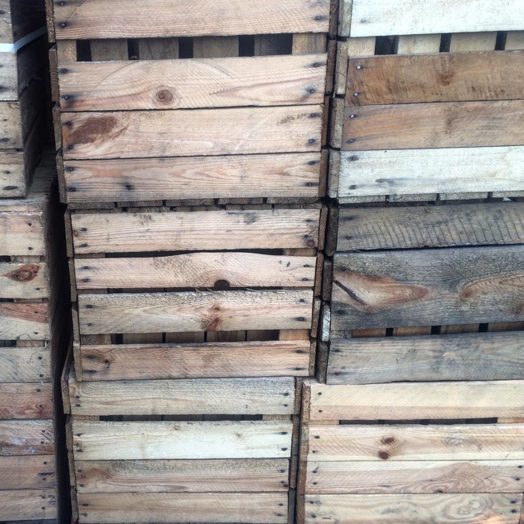 Wooden Apple Crates - fruit / bushel boxes for storage & Wooden Apple Crates - fruit / bushel boxes for storage   in ... Aboutintivar.Com