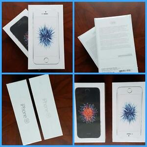 Brand New iPhone SE (Rogers/Fido)/New Mint in Box iPhone 5S/5C(Factory Unlocked)/WIND/Freedom Mobile/Rogers/Bell/Telus/