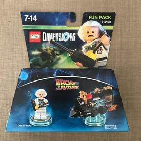 Lego Dimensions Back to the Future fun pack 71230
