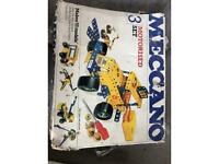 Vintage Meccano set