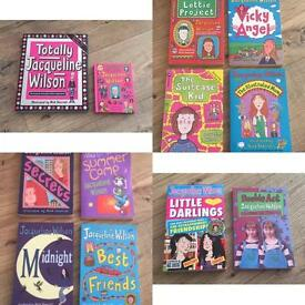45 X Jacqueline Wilson Books Excellent Condition Bundle Hardback And Paperback