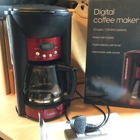 Logik digital coffee maker ( brand new not used )