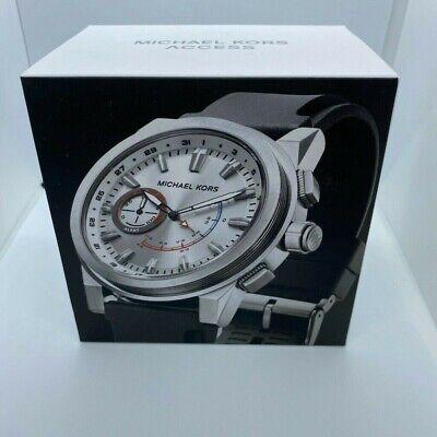 Michael Kors Access Men's Grayson MKT4009 hybrid silicone wrist smartwatch