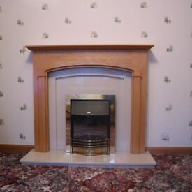 As new fire surround and fire