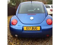 Private Number Plate for Sale ....E17 BUG