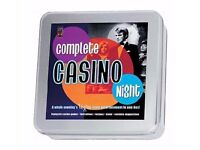 2 PARTY BOARD GAMES, BRAND NEW ONLY £5 FOR BOTH – CASINO NIGHT, ULTIMATE MOVIE QUIZ