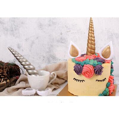 Einhorn Geburtstag Kuchen Dekor Topper Cute Horn Ohren Party Ornament Dekor ()