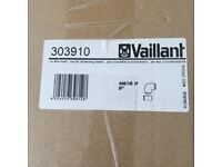 Extract duct elbow for Vaillant heating boiler