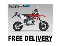 KURZ RT1 125 Supermoto - Pit Bike - Learner Suitable - Pitbike - Road Legal