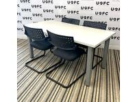 Meeting Room Table and Vitra Chairs