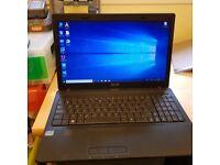 ASUS Laptop X54H, intel I3 processor, 500Gb Hard drive, 4Gb ram, windows 10