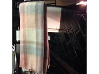 Primark Pink Check Scarf