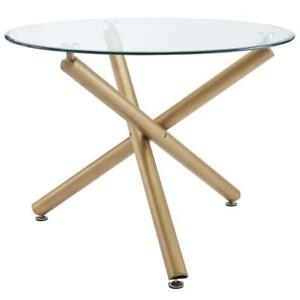 Carmilla Dining Table in Gold (WW54)