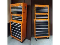 Toolbox/rollcab with tools
