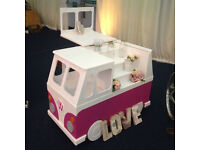 VW Campervan Candy Cart Hire