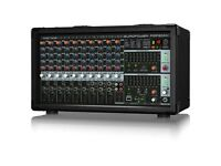 Behringer PMP2000D Powered Mixer with AS - Acoustic Solutions Powerforce 2000 speakers