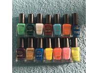14 BarryM nail varnishes