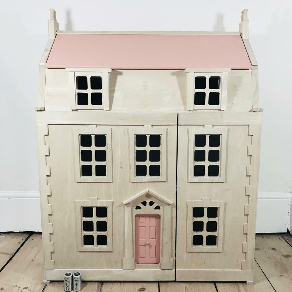 Plan Toys Wooden Georgian Dolls House In Exeter Devon