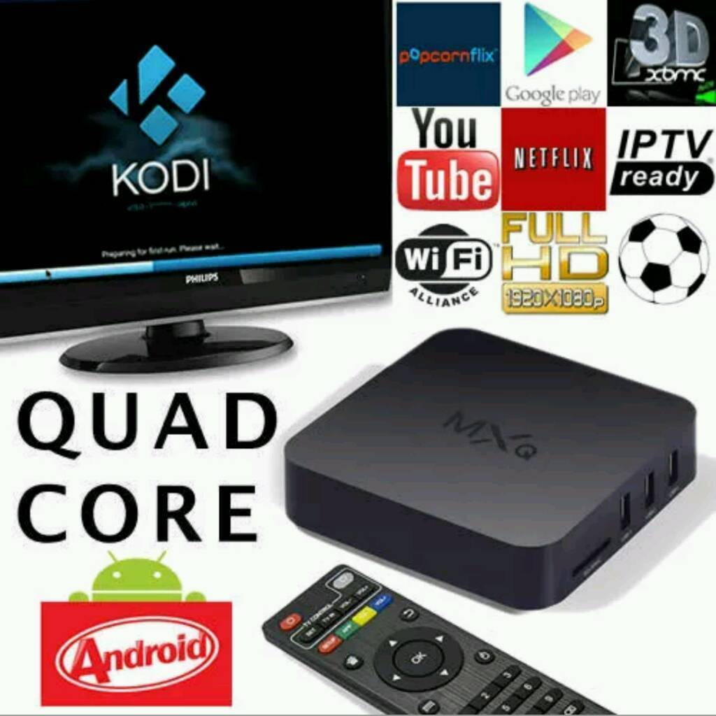 MXQ ANDROID TV BOX