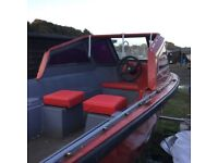 16ft fibre glass boat for project