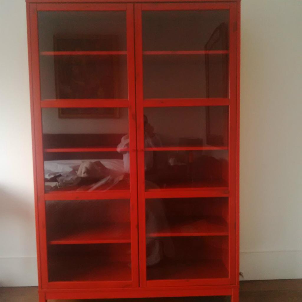 Bookcase With Glass Doors Ikea Ikea Linnarp Glass Door Pine