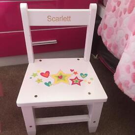 Personalised Scarlett chair