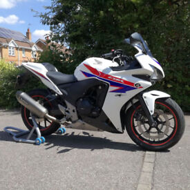 Honda CBR500R ABS 2013 in White