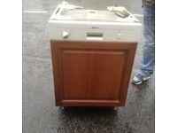 Dishwasher integrated,neff make,£85.00