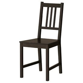 Brand new Black dining chairs