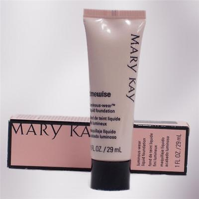 Mary Kay LUMINOUS WEAR Liquid Foundation YOU CHOOSE SHADE Normal to Dry Skin