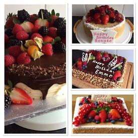 Birthday Cakes. Homemade. Croydon