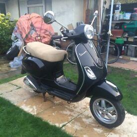 2011 piaggio vespa lx 125cc not gilera , honda , moped 125