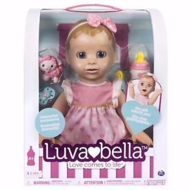 Luvabella Blonde Doll - Brand New - Ready for Collection