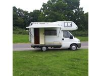Fiat Ducato 1.9 TD Hymer Swing Left Hand Drive 4 berth MOT 09/18 imported from Spain 2012 so,no rust